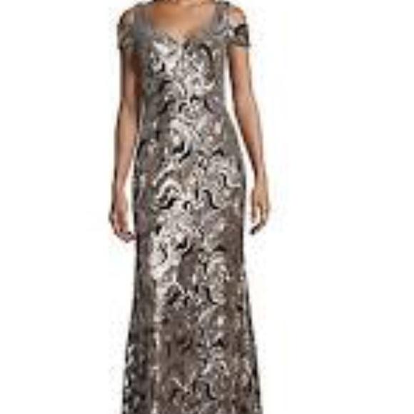 3f56c06cbbab Calvin Klein Dresses | Sequin Gown | Poshmark